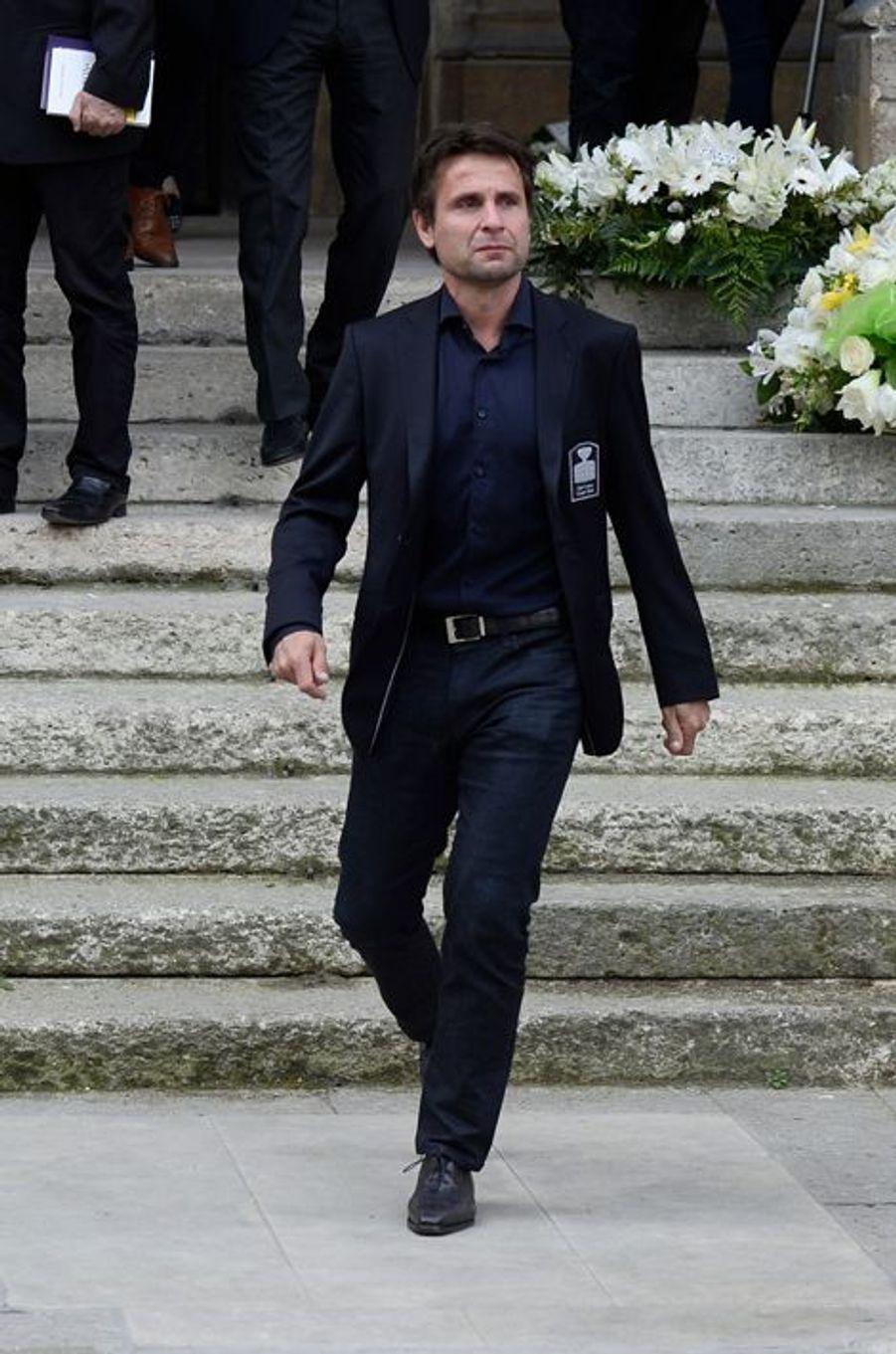 Fabrice Santoro à Paris le 16 avril 2015