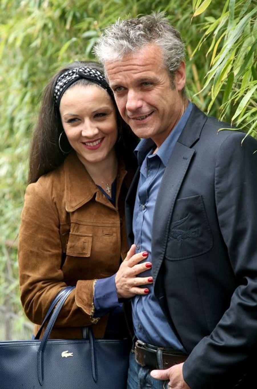 David Brecourt et sa compagne Sarra Mona