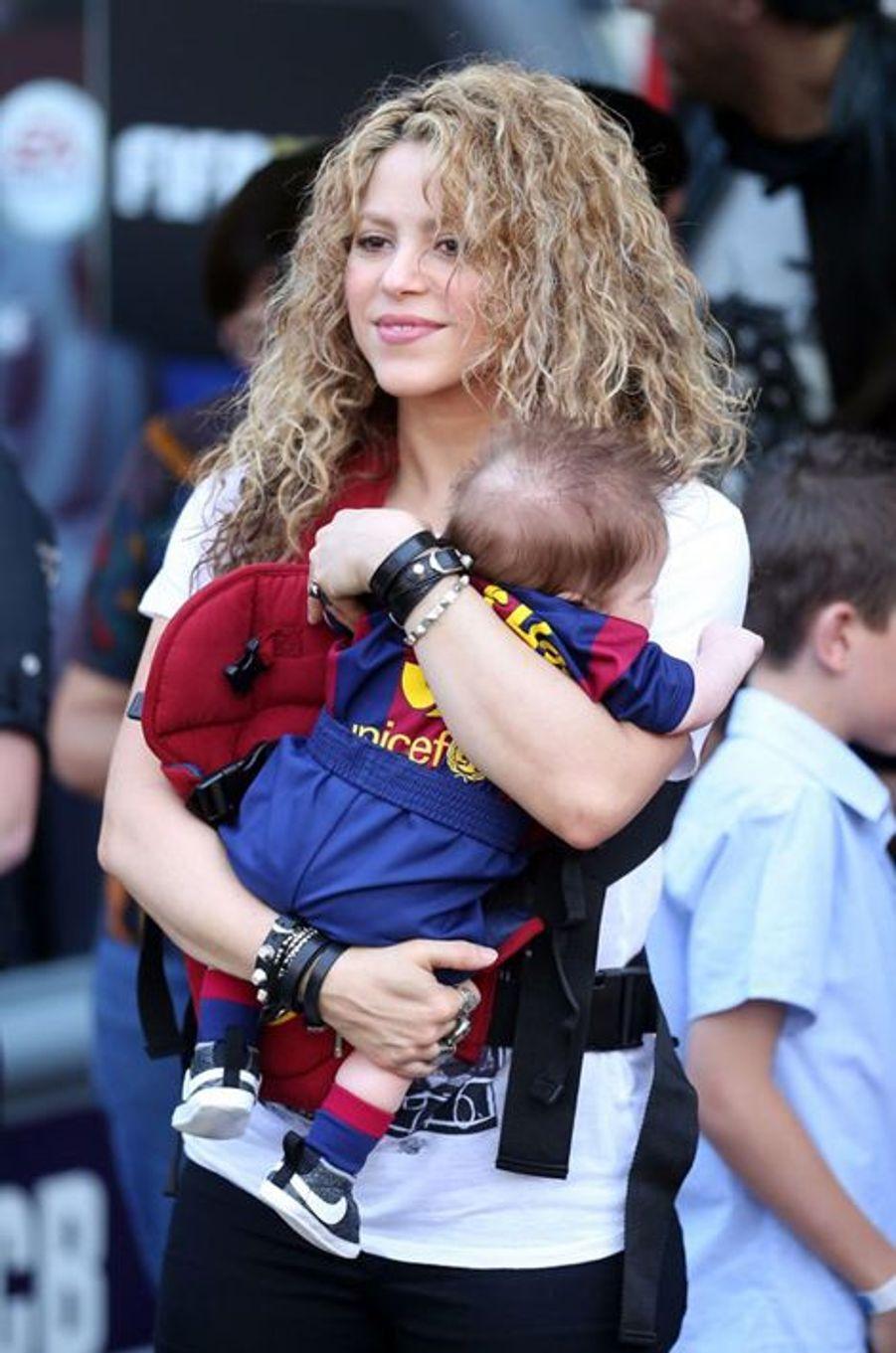 Shakira avec Sasha