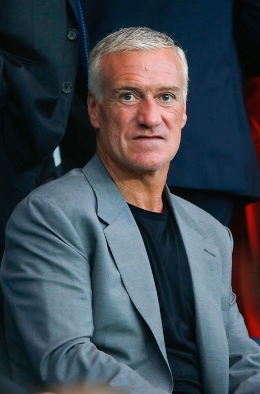 Didier Deschamps à Paris le 15 avril 2015