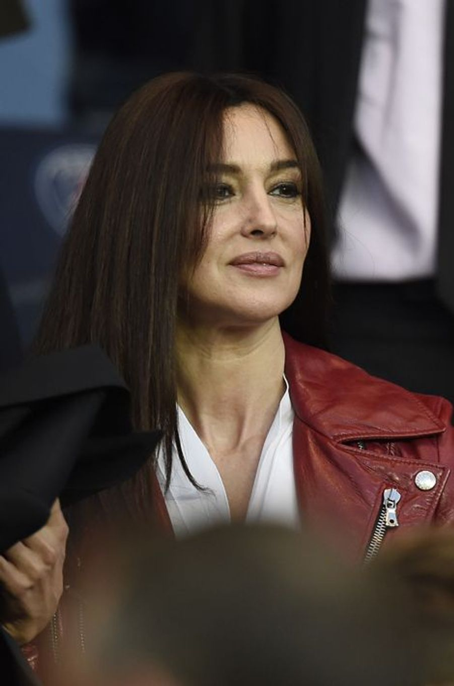 Monica Bellucci à Paris le 15 avril 2015