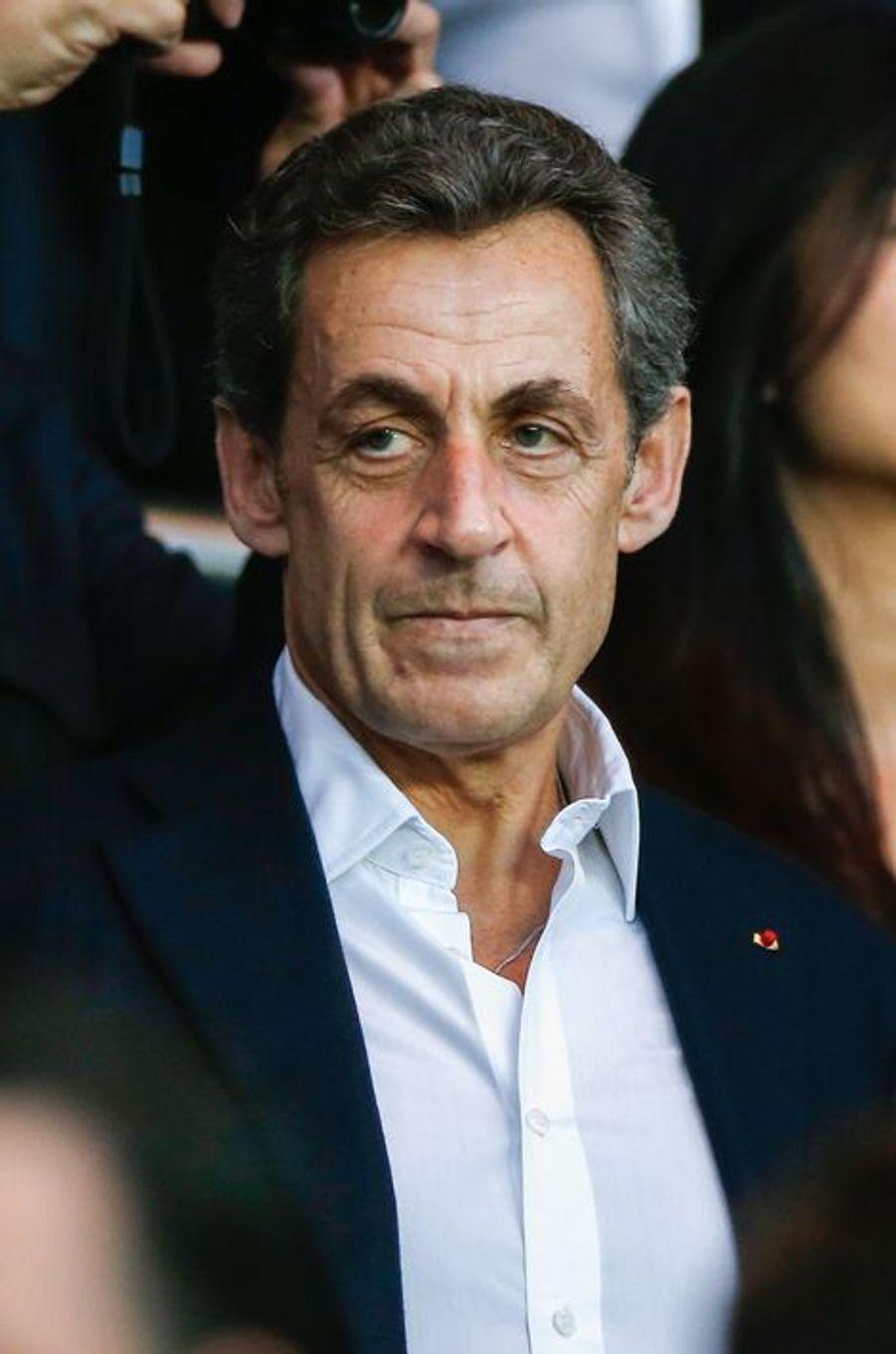 Nicolas Sarkozy à Paris le 15 avril 2015