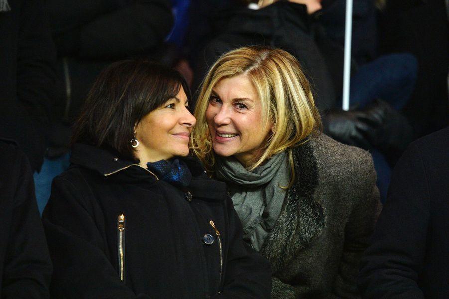 Anne Hidalgo et Michèle Laroque