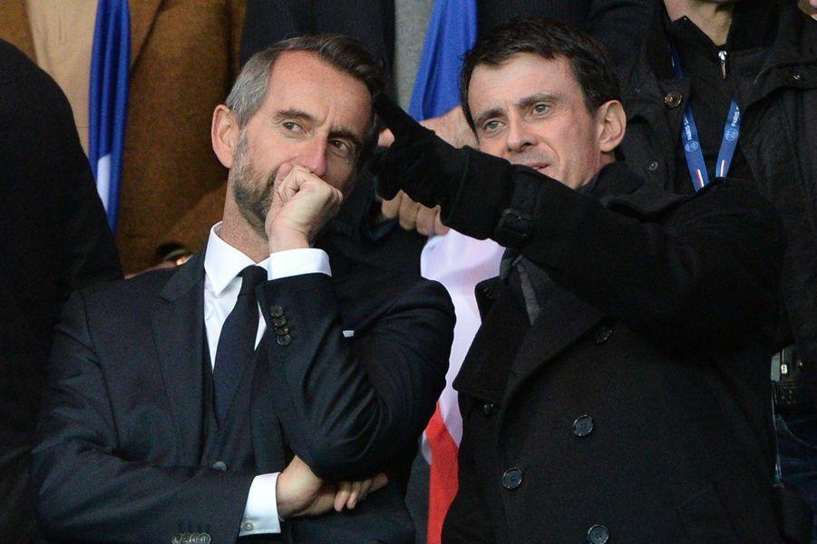 Jean-Claude Blanc et Manuel Valls