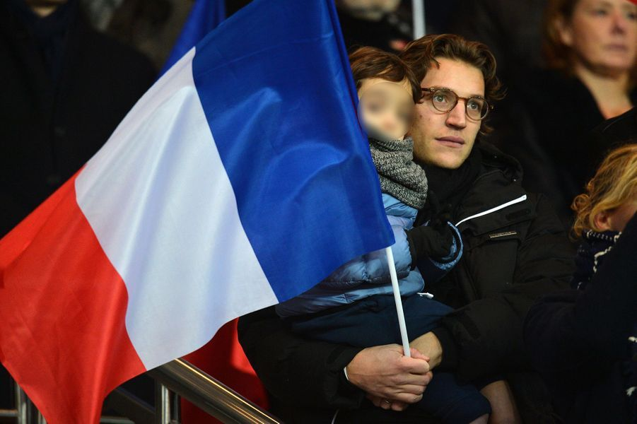 Jean Sarkozy et son fils Solal