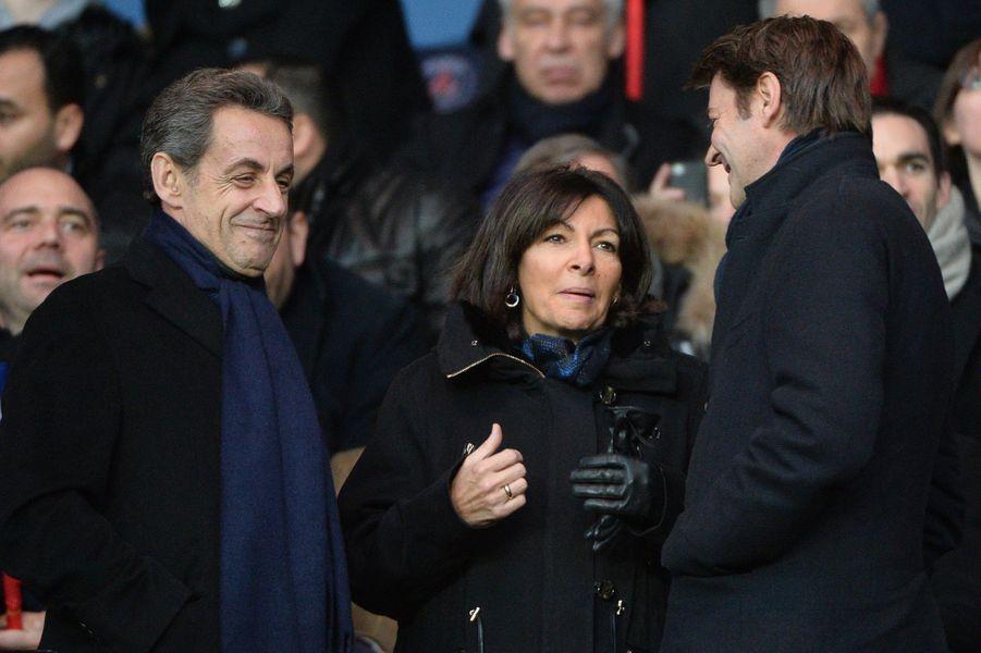Nicolas Sarkozy, Anne Hidalgo et François Baroin