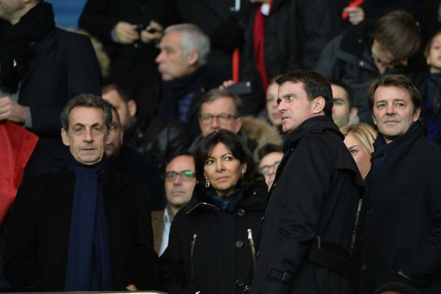 Nicolas Sarkozy, Anne Hidalgo, Manuel Valls