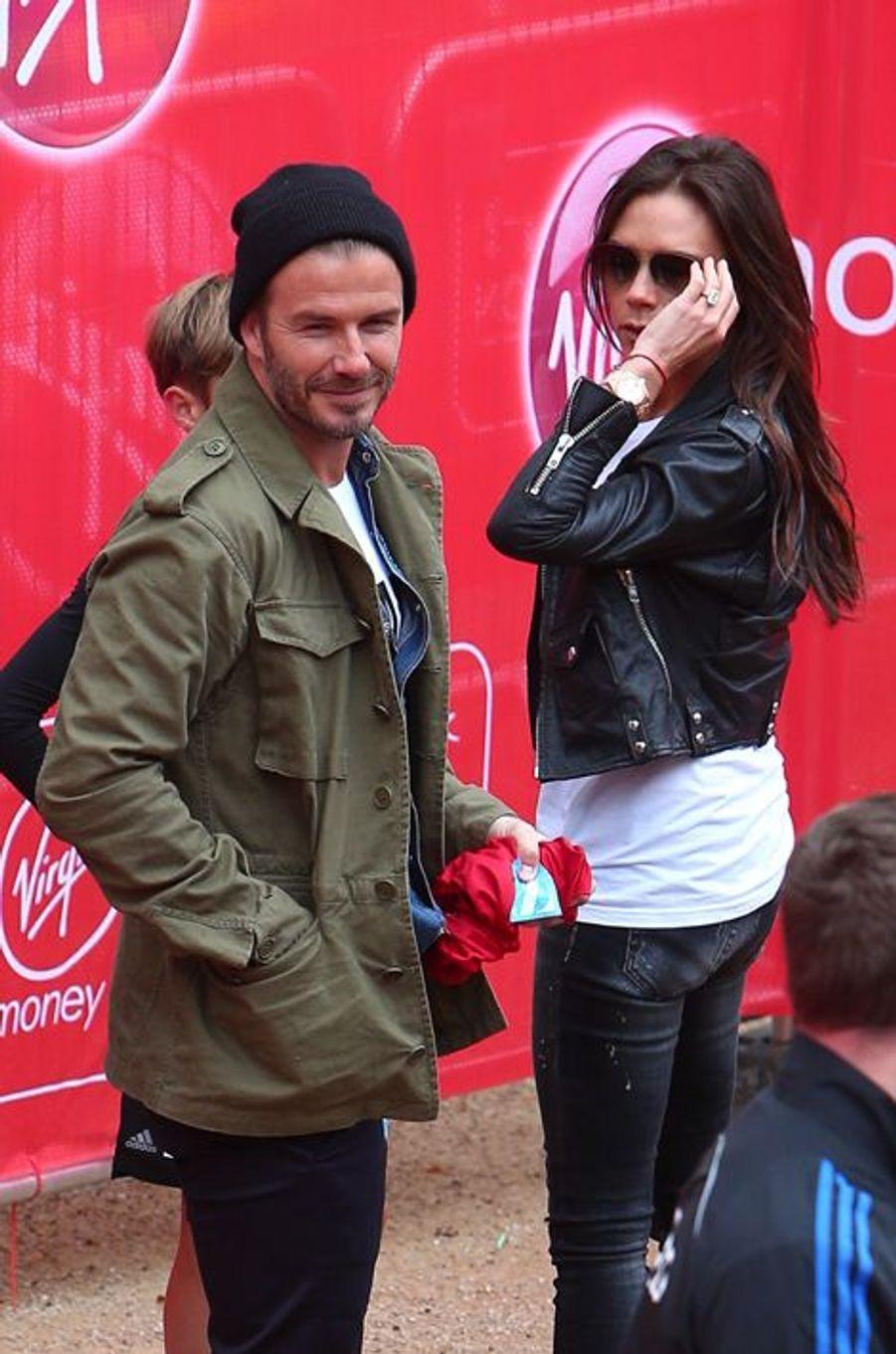 David et Victoria Beckham, si fiers de leur fils
