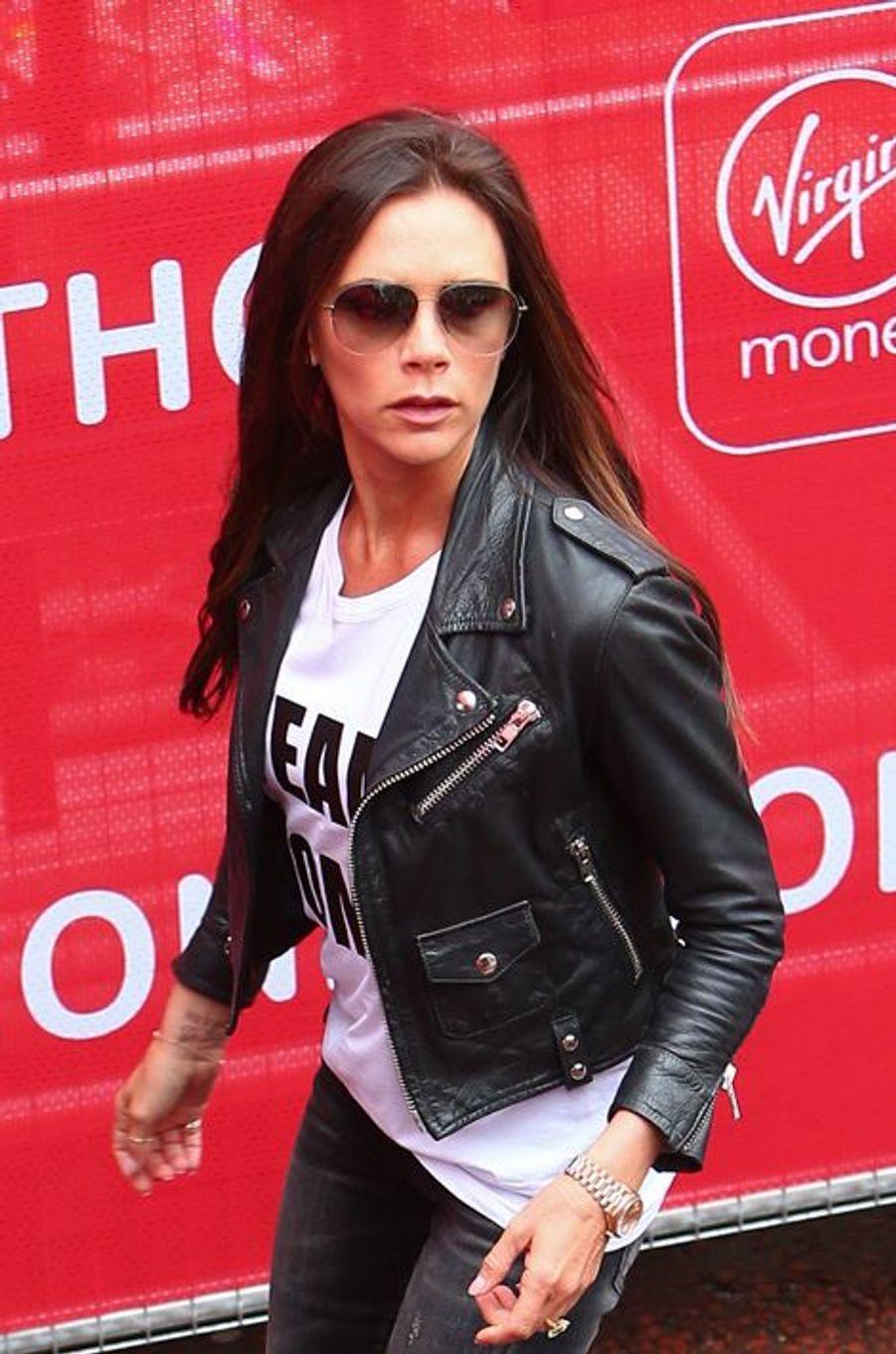 Victoria Beckham à Londres le 26 avril 2015