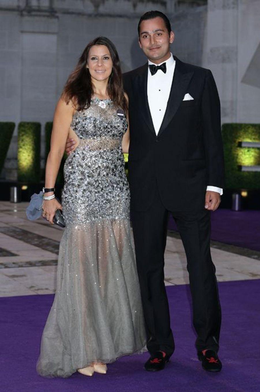 Marion Bartoli et son compagnon, Joseph, à Londres le 12 juillet 2015