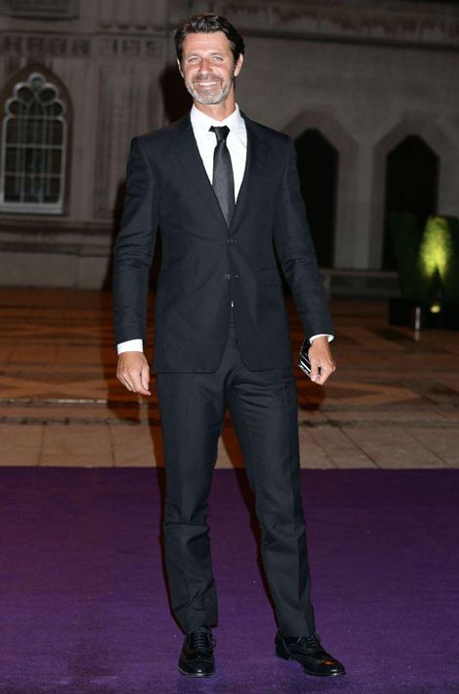 Patrick Mouratoglou à Londres le 12 juillet 2015
