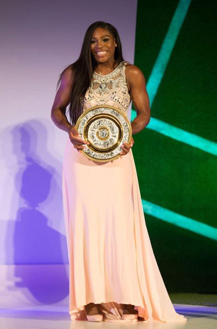 Serena Williams à Londres le 12 juillet 2015