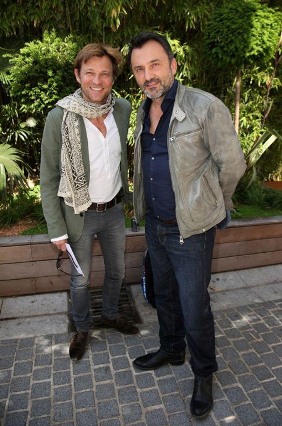 Laurent Delahousse et Frédéric Lopez