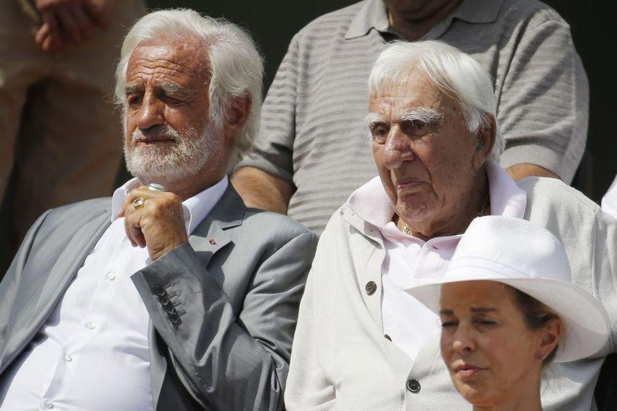 Jean-Paul Belmondo et son compagnon de toujours Charles Gérard