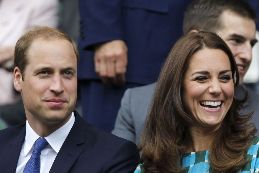 Le prince William et la duchesse Catherine