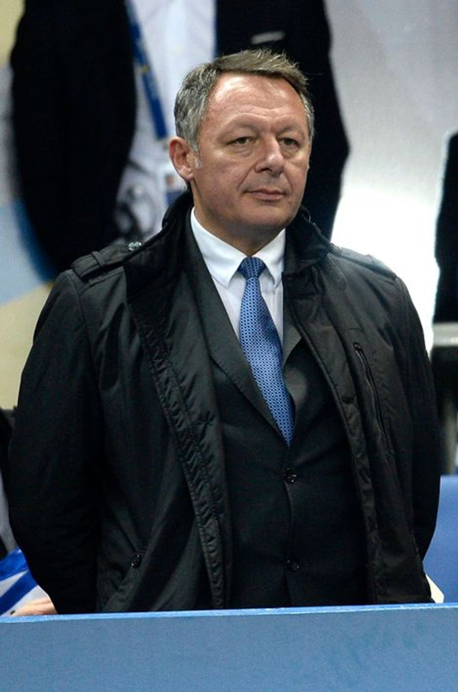 Thierry Braillard au Stade de France, le 11 avril 2015