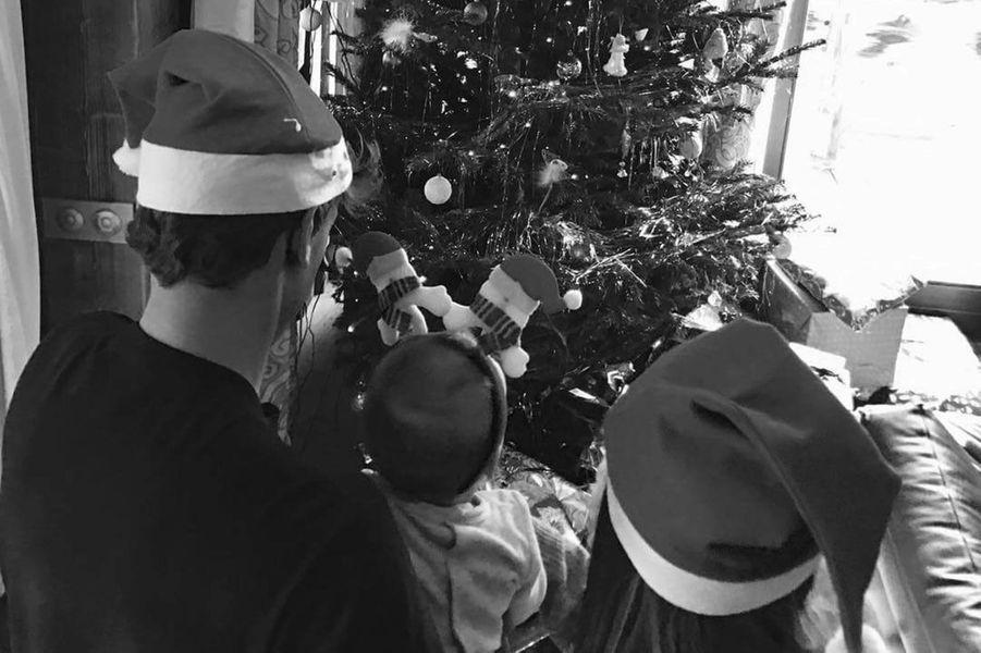 Erika Choperena, Antoine Griezmann fêtent leur premier Noël avec leur fille Mia