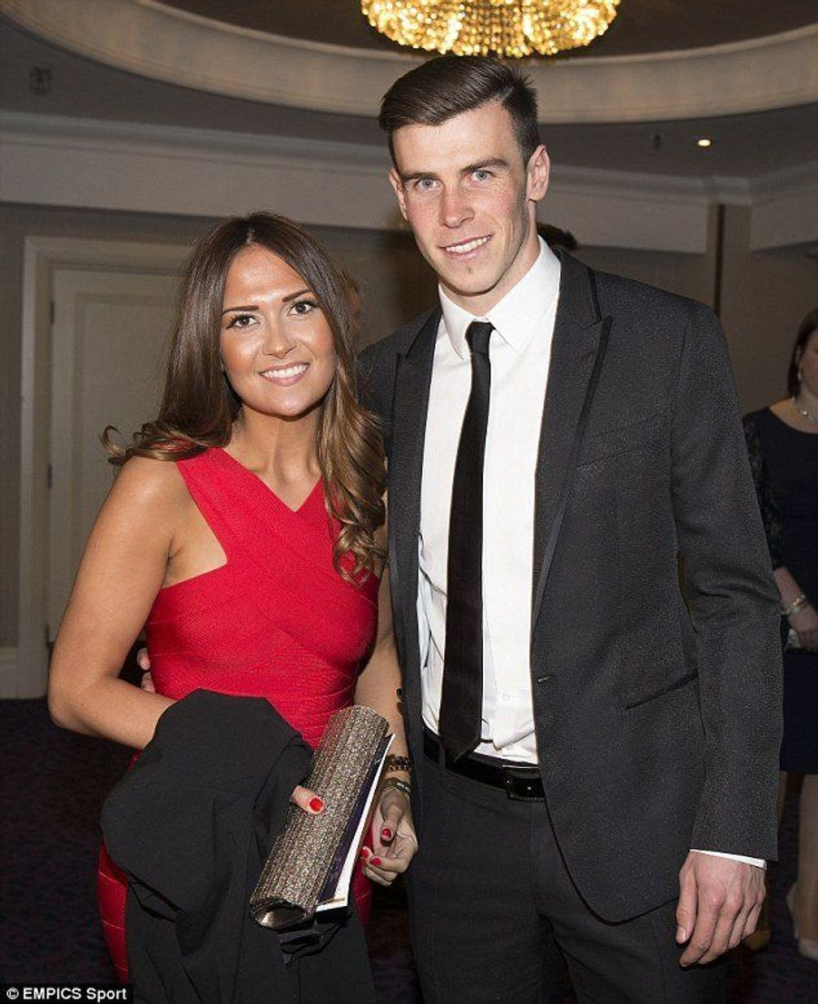 Gareth Bale et sa compagne, Emma Rhys-Jones.