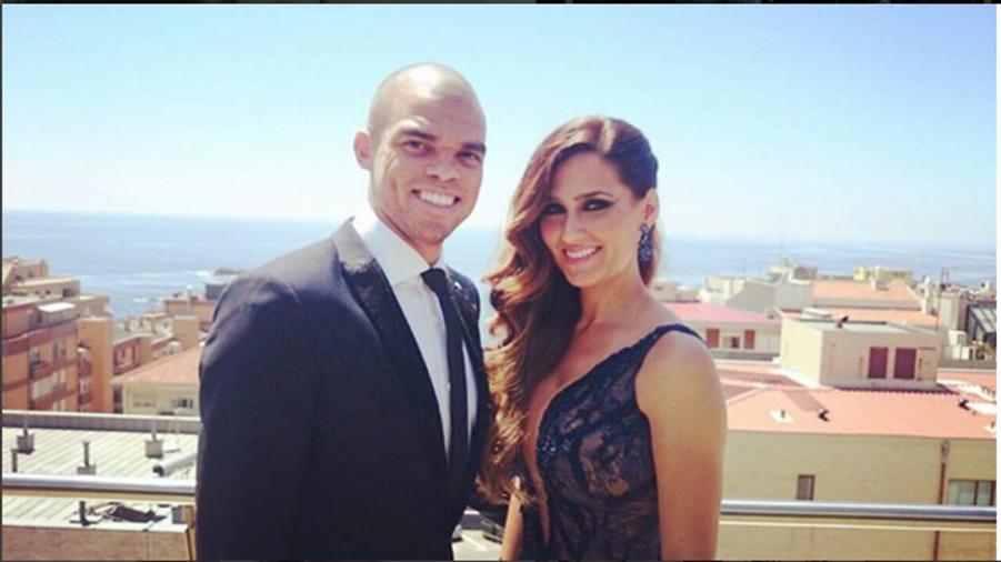 Pepe et sa compagne, Ana Sofia Moreira.