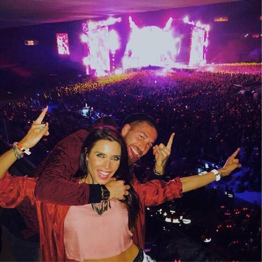 Sergio Ramos et sa compagne, Pilar Rubio.