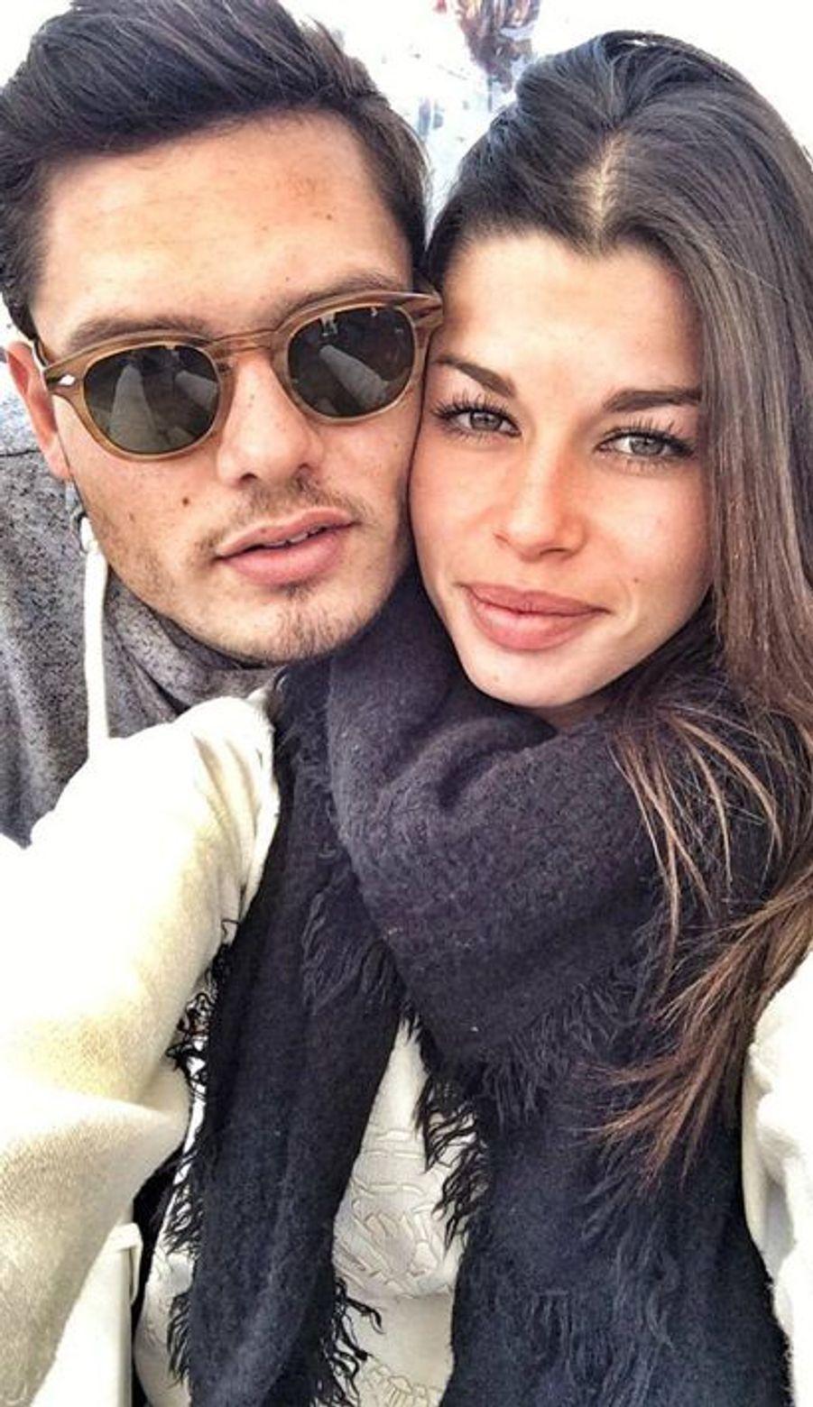Florent Manaudou et Fanny Scalli, image issue de la page Facebook officielle de Florent Manaudou