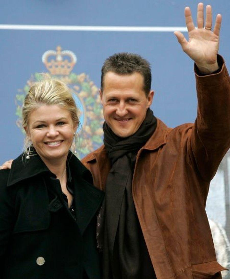 Corinna Schumacher soutient son mari pour son grand retour en Formule 1.