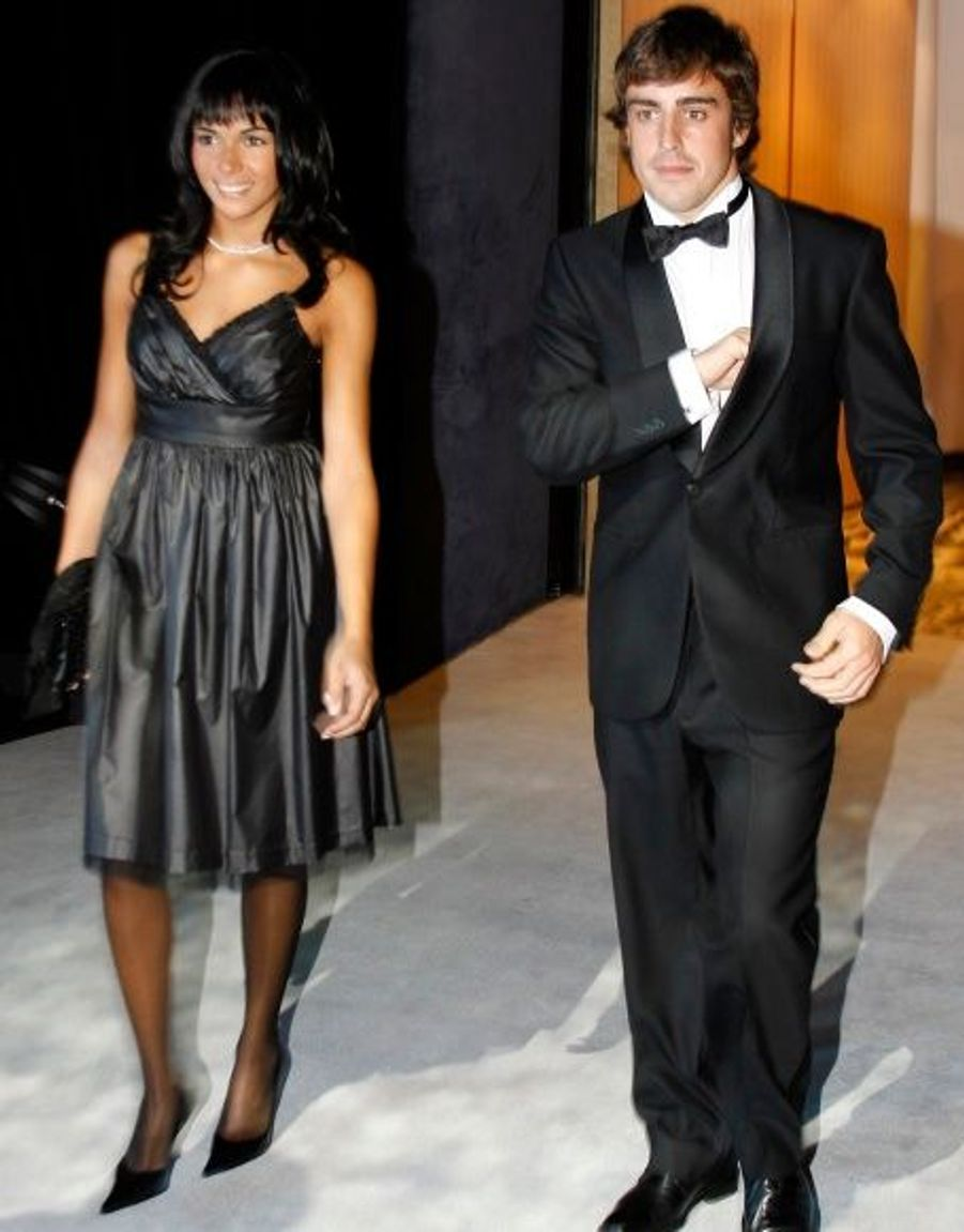 Rachel del Rosario et Fernando Alonso