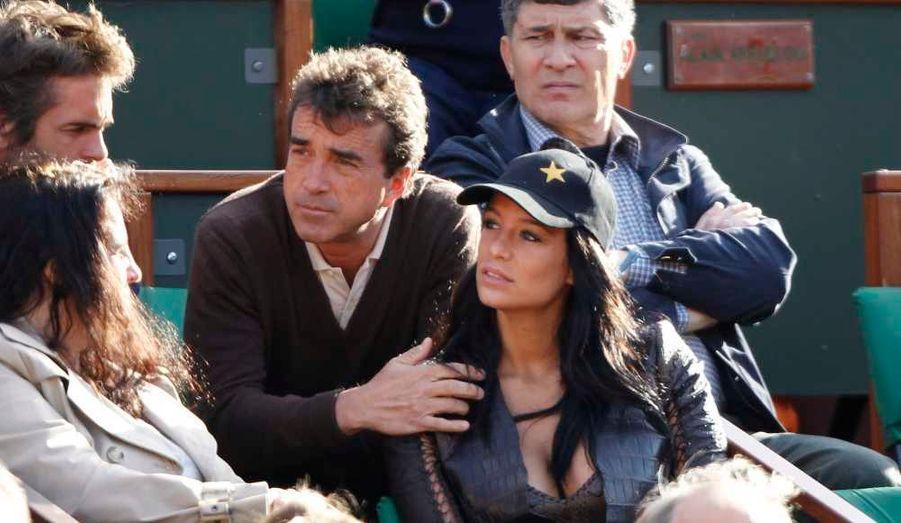 Arnaud Lagardère et Jade