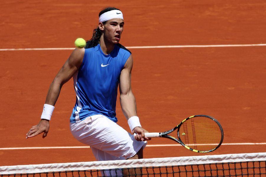 Rafael Nadal à Roland-Garros en 2006.