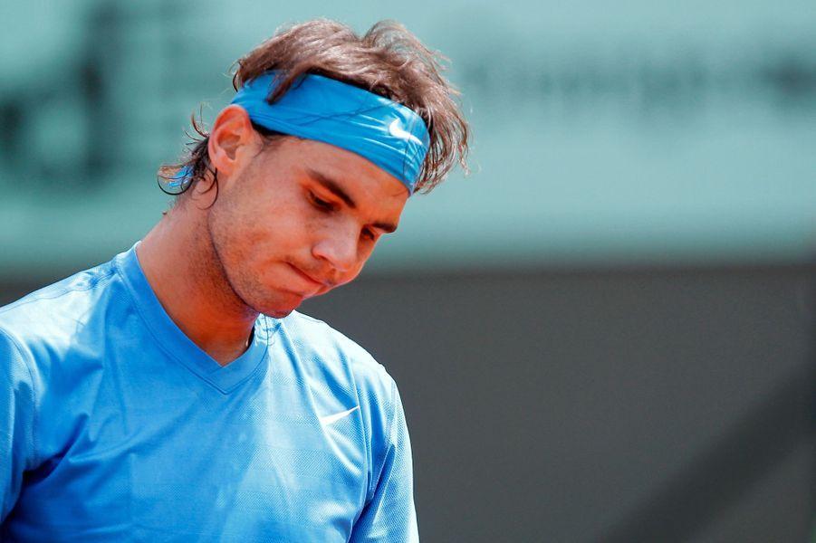 Rafael Nadal à Roland-Garros en 2011.