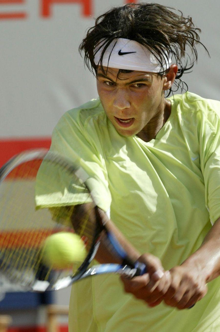 Rafael Nadal en 2003.