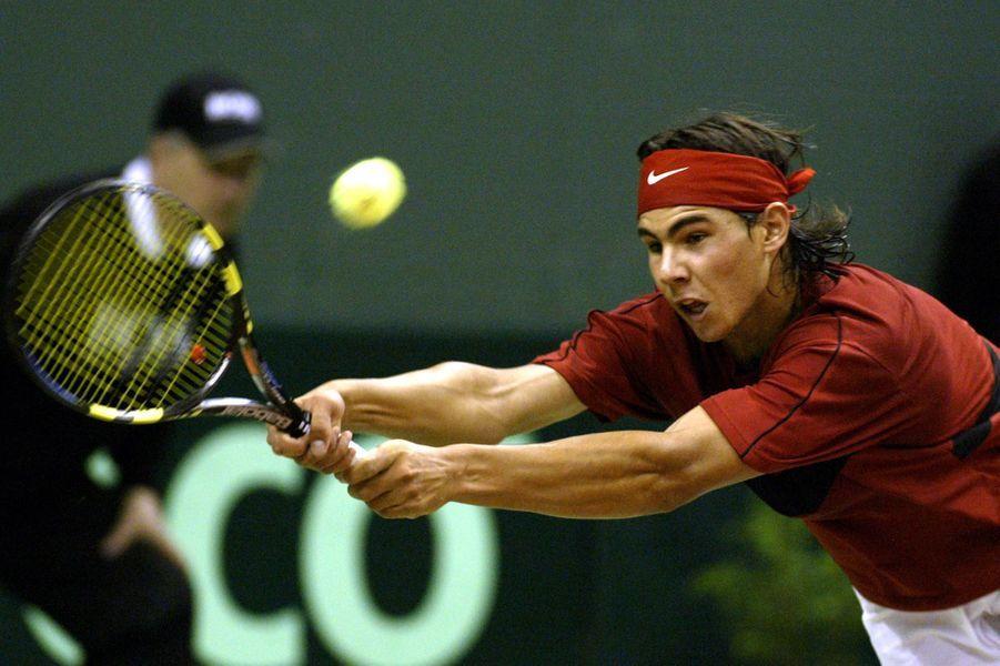 Rafael Nadal en 2004.