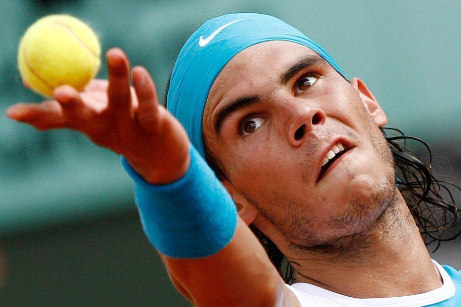 Rafael Nadal en 2007.