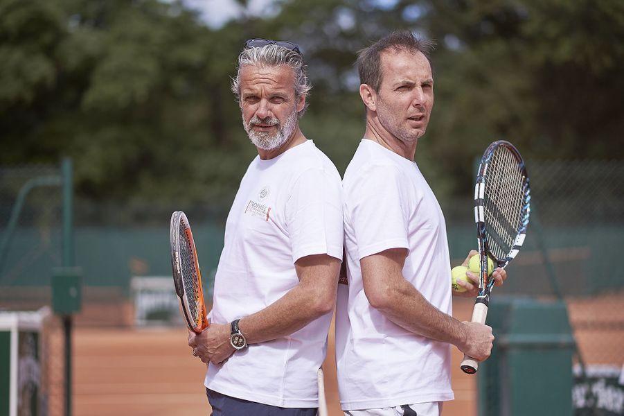 Jean-Philippe Doux et David Brecourt.