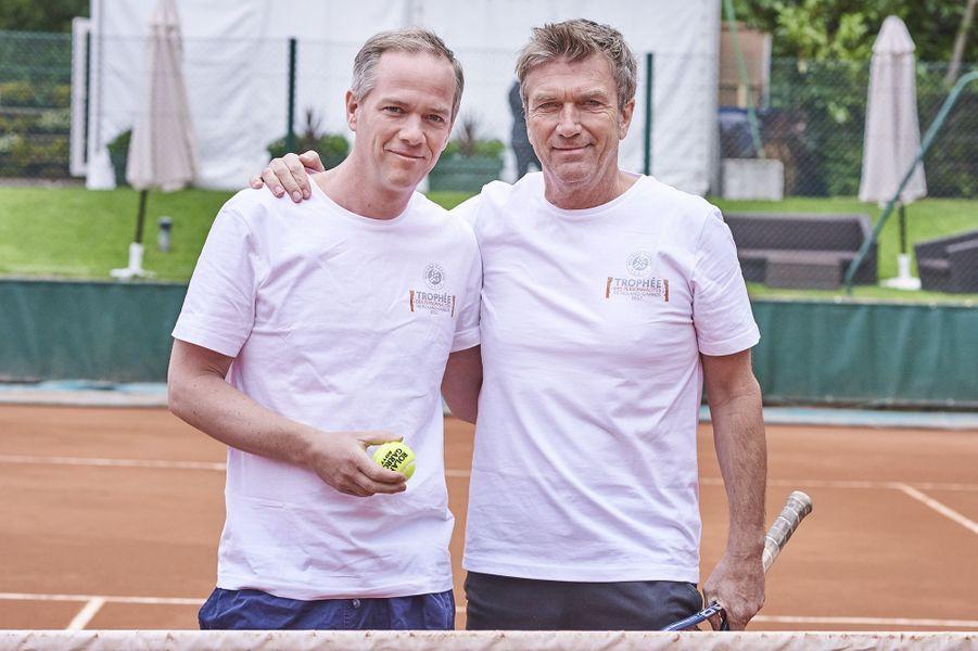 Julien Arnaud et Philippe Caroit.