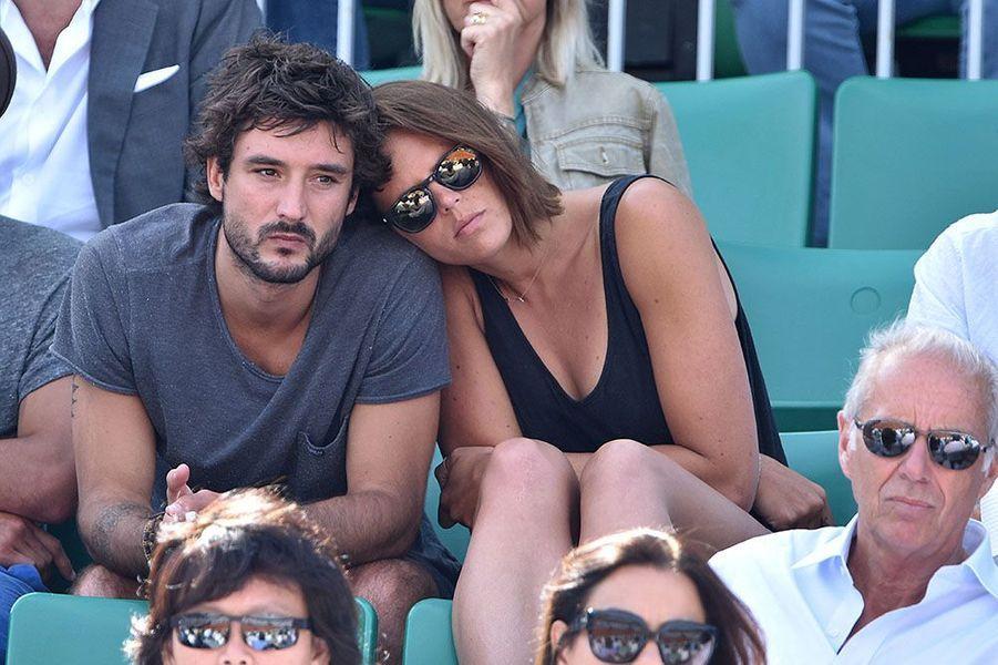 Laure et Jérémy dans les tribunes du tournoi de Roland Garros, mai 2015