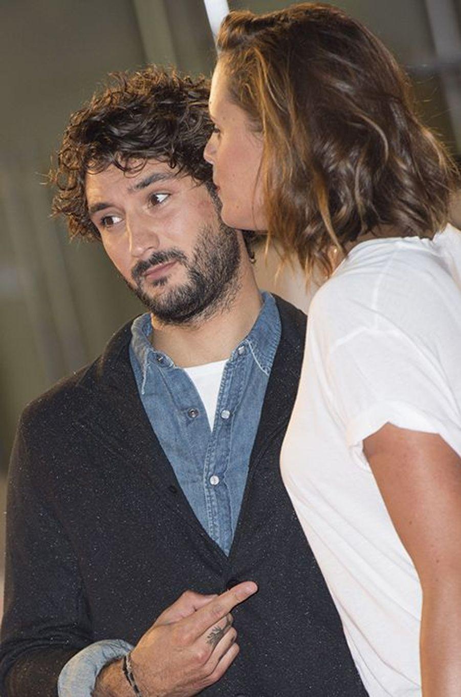 Laure et Jérémy lors de la dernière cérémonie des NRJ Music Awards