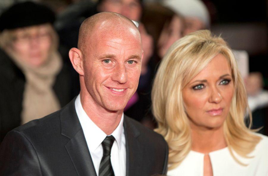 Nicky Butt et sa femme Shelley