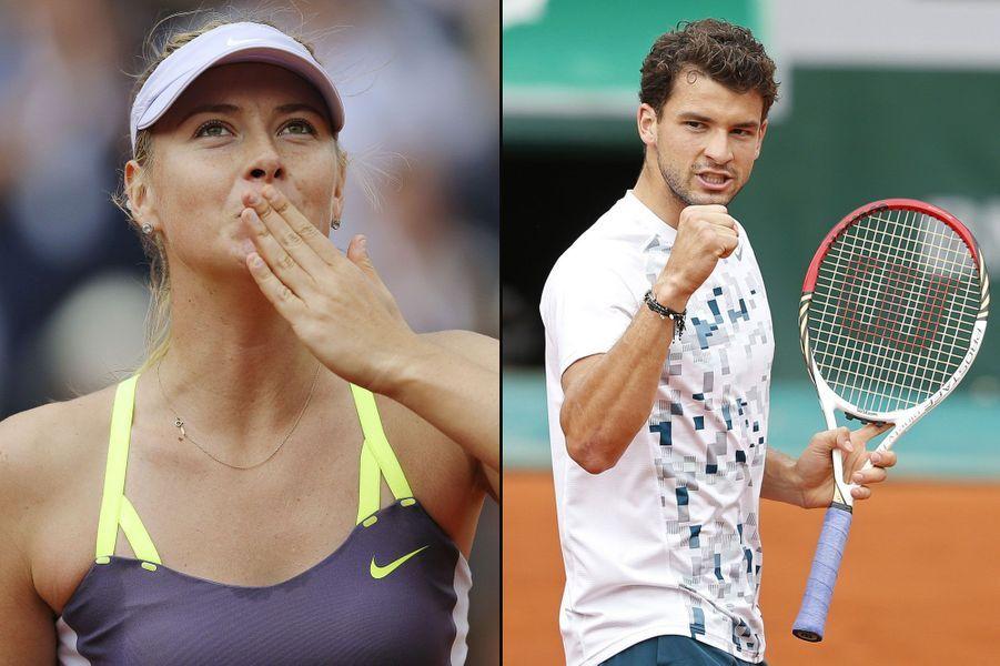 Maria Sharapova et Grigor DimitrovLa Russe a confirmé en 2013 sa relation avec le séduisant bulgare lors d'une conférence de presse. «C'est officiel, nous nous voyons depuis quelque temps», a-t-elle déclaré. Mais leur histoire a pris fin en 2015, lorsqu'ils ont rompu leurs fiançailles.
