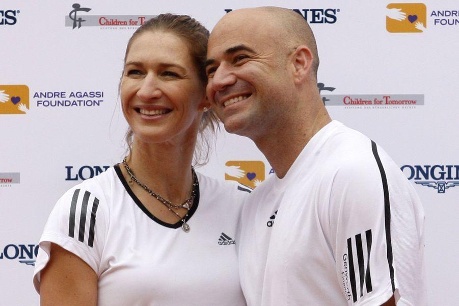 Steffi Graff et André Agassi se sont mariés en 2001.