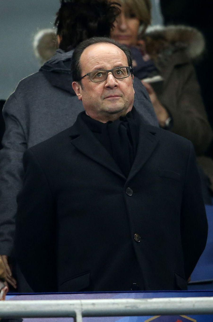 François Hollande à Saint-Denis le 29 mars 2016