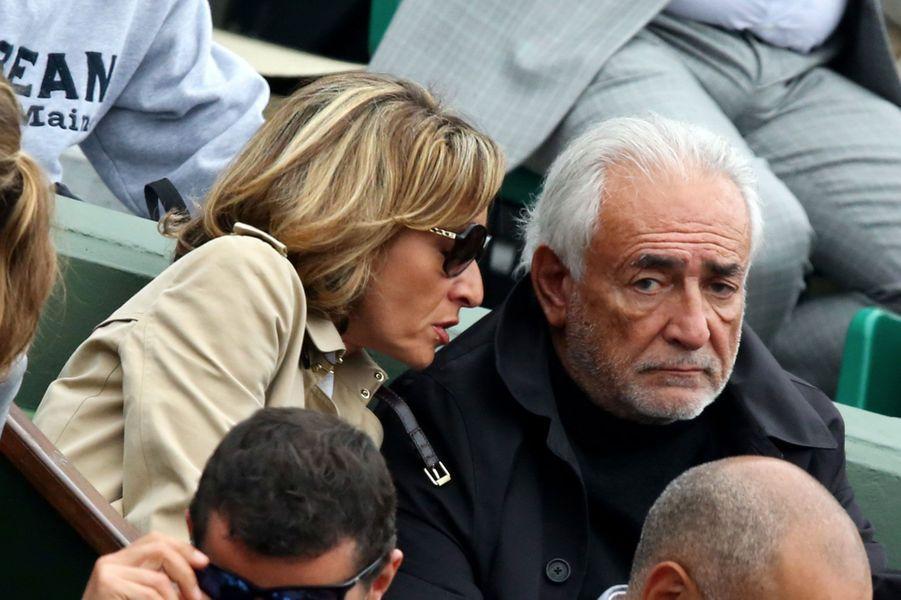 Dominique Strauss Kahn et sa compagne Myriam L'Aouffir