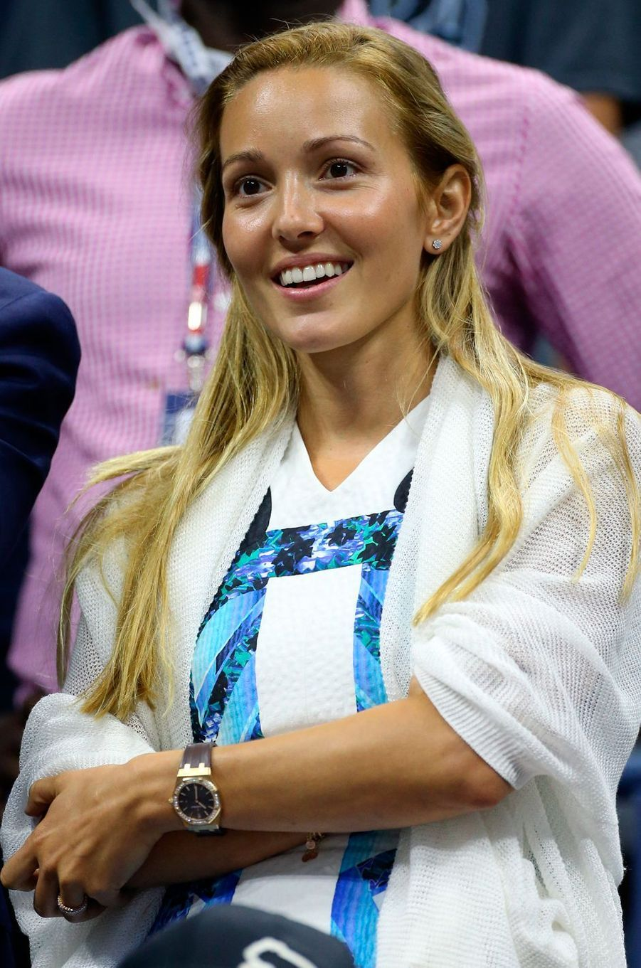 Jelena Ristic, compagne de Novak Djokovic.