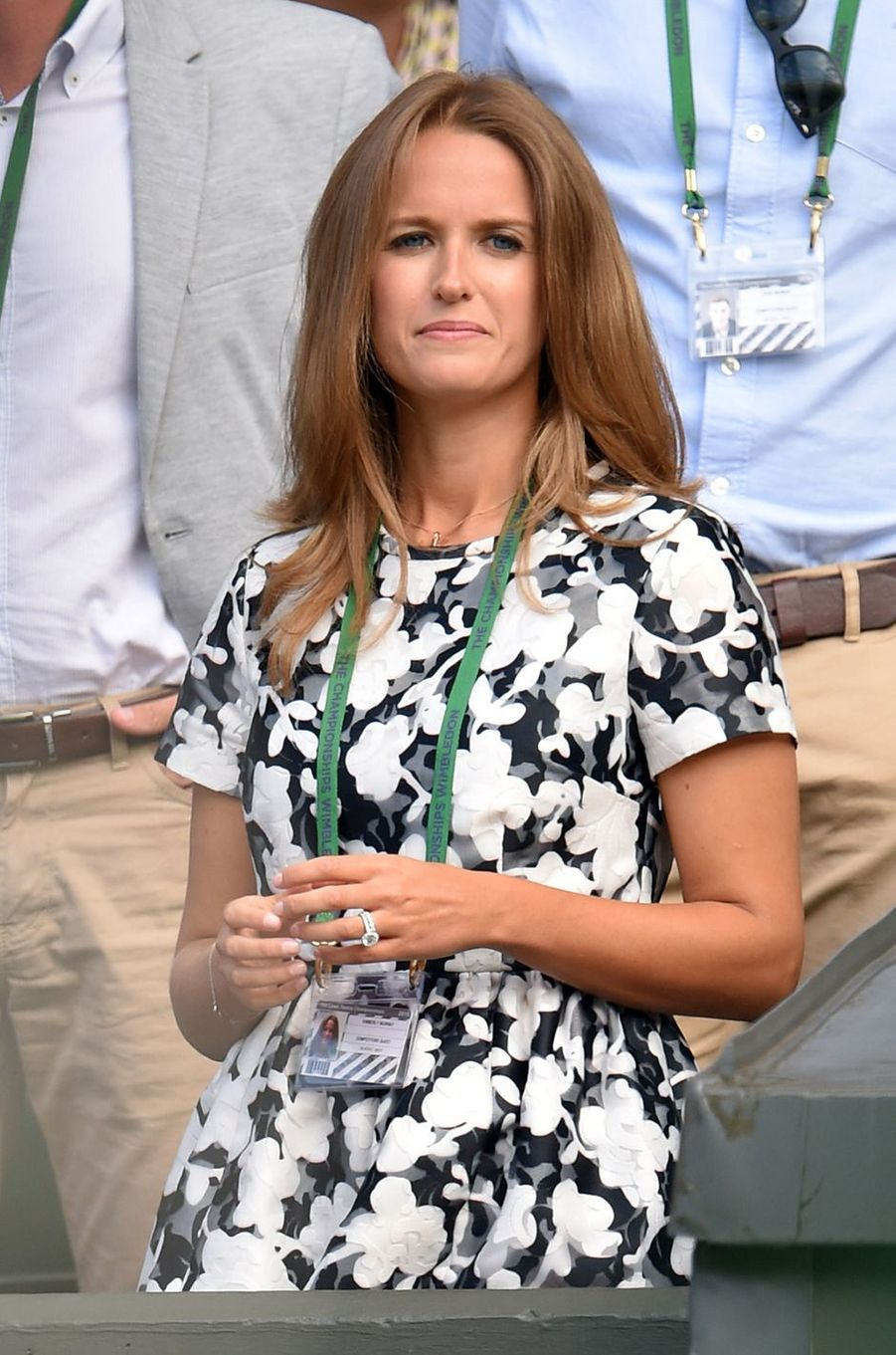 Kim Sears, compagne d'Andy Murray.
