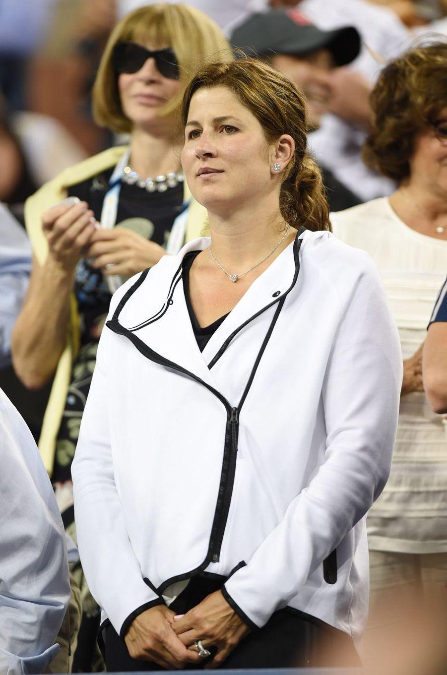 Miroslava Federer, compagne de Roger Federer.