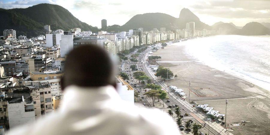 A Rio, en août 2013, où Teddy Riner, blessé à l'épaule un mois plus tôt, a quand même remporté une sixième médaille d'or aux championnats du monde.