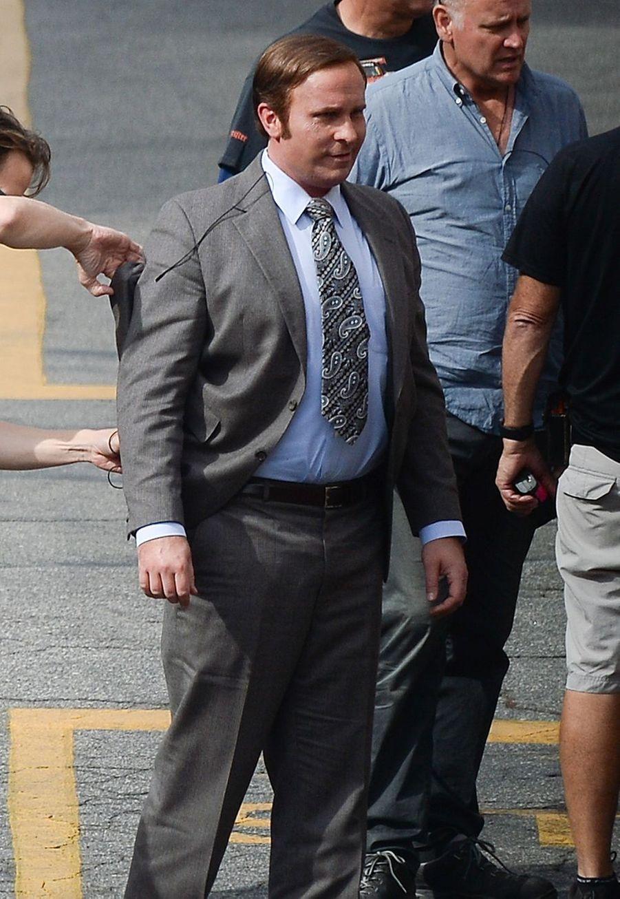 Christian Bale sur le tournage de «Vice» en 2017