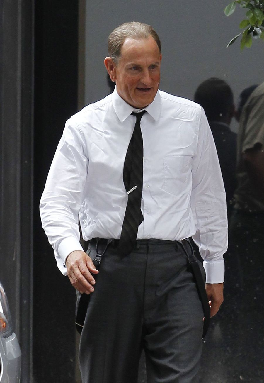 Woody Harrelson sur le tournage de «LBJ» en 2015