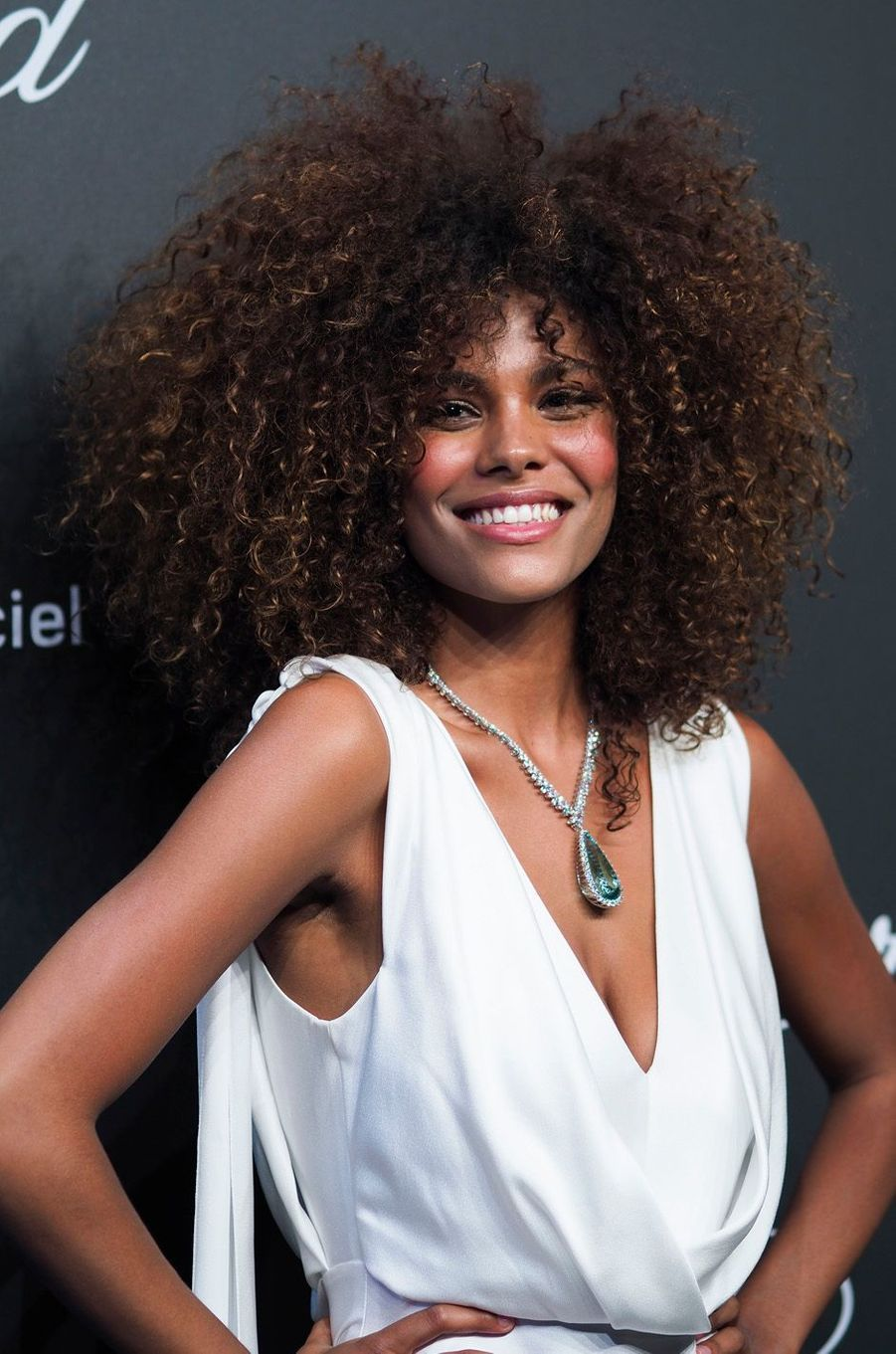 Tina Kunakey, le 19 mai 20147 à Cannes.