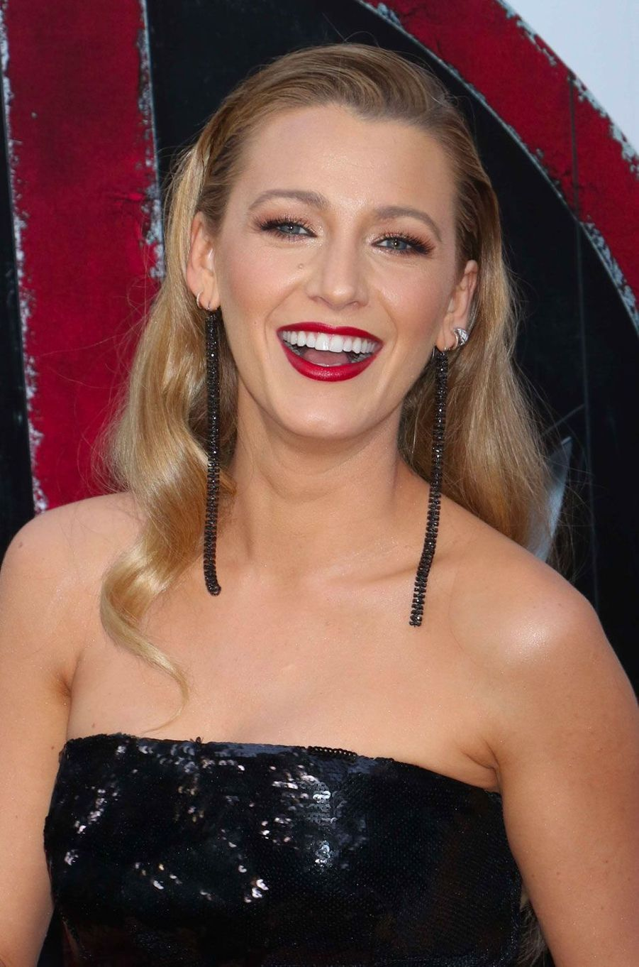 Blake Lively maquillée